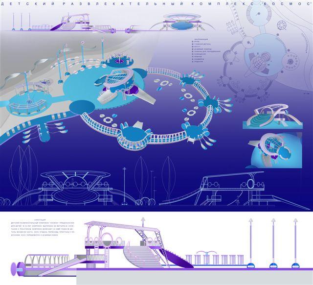 Дизайн проект детской площадки